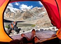 Незабываемые виды из палатки