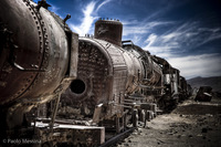 10 снимков самой большой свалки поездов в мире, Боливия