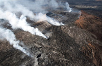 36 Фото вулканической активности Земли. Part 2