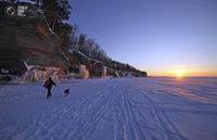 Красоты, которые скрывает самое большое замерзшее озеро на планете