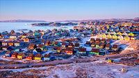 12 неземных снимков северного сияния над Гренландией и Исландией