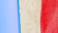 Флаги государств, нарисованные природой