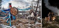 Уникальные снимки повседневной жизни племени оленеводов, проживающего в Монголии