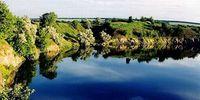 В Алжире есть озеро, в котором вместо воды — чернила