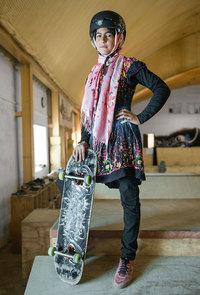 Многим афганским девочкам не разрешается ездить на велосипедах, поэтому они нашли альтернативу...
