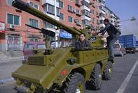 19 самодельных транспортных средств из Китая, которые поразят самое смелое воображение
