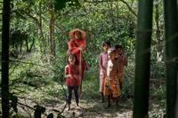 Камбоджийские охотники на тарантулов