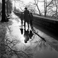 Проникновенные и глубокие снимки городской жизни Нью-Йорка и Чикаго периода 50-60-х годов
