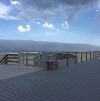 Обманчивое цунами на побережье Нью-Джерси
