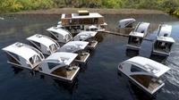 В Сербии откроется отель с уникальными плавающими номерами