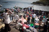 Самый густонаселенный остров в мире: Мгинго