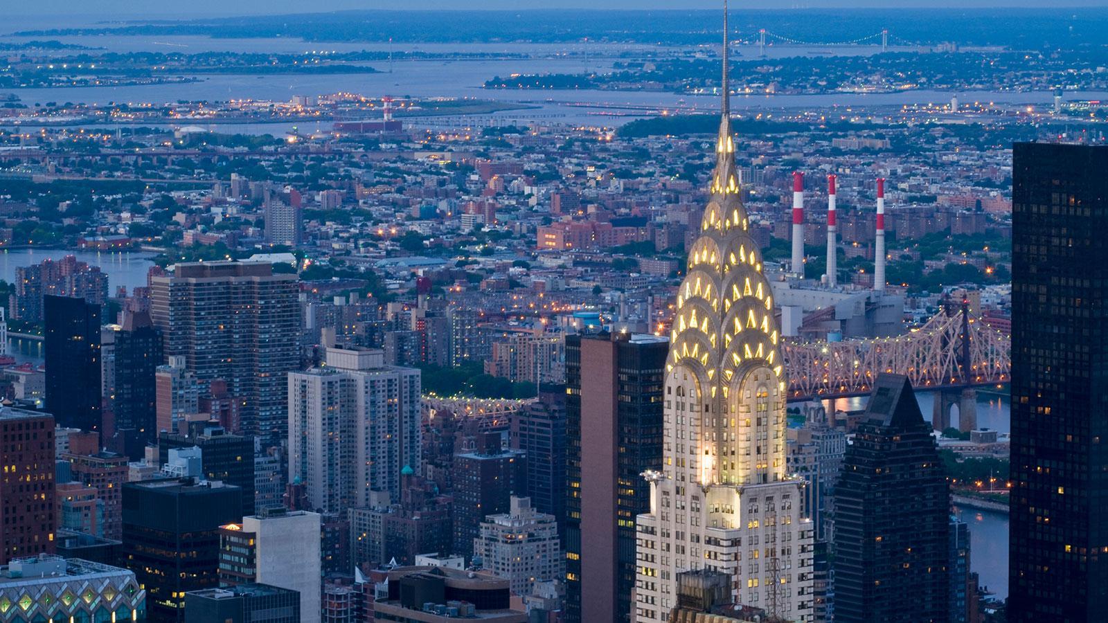 крайслер билдинг в нью йорке фото