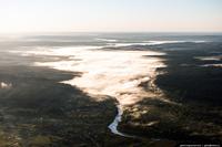 Полет над Новосибирской областью. Бердские скалы