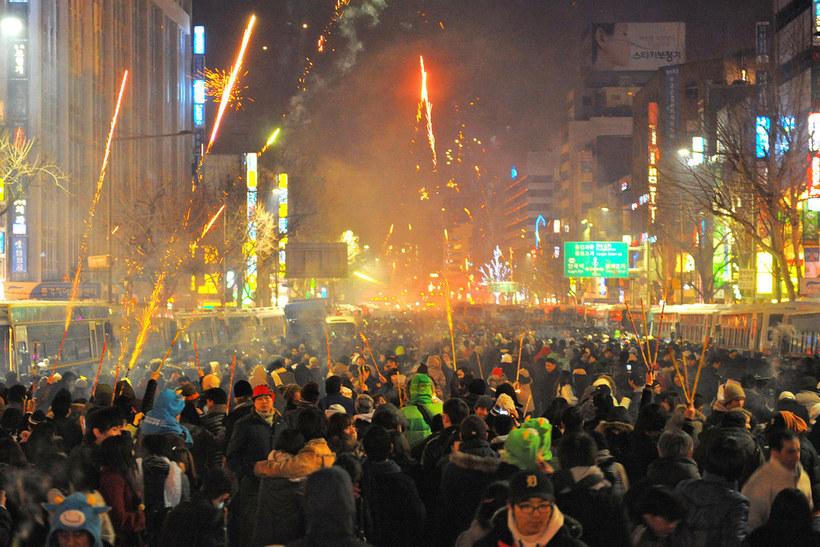 Новый год в корее как отмечают