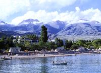 Озеро Иссык-Куль - расположение озера, когда лучше поехать и места для отдыха
