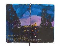 Вместо банальных фото эта девушка рисует свои путешествия в блокнот!