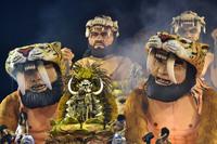 19 самых колоритных снимков карнавалов со всего мира в нынешнем году