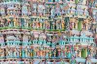 Поразительный храм Минакши, построенный из тысяч статуэток!