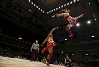 Женский реслинг в Японии: 17 мощных снимков