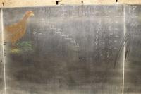 Наброски на классной доске, замороженные во времени на 100 лет