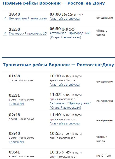 Автобус воронеж симферополь прямой рейс 2017 цена