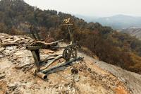 15 печальных фото самого живописного места Калифорнии, которое сгорело дотла