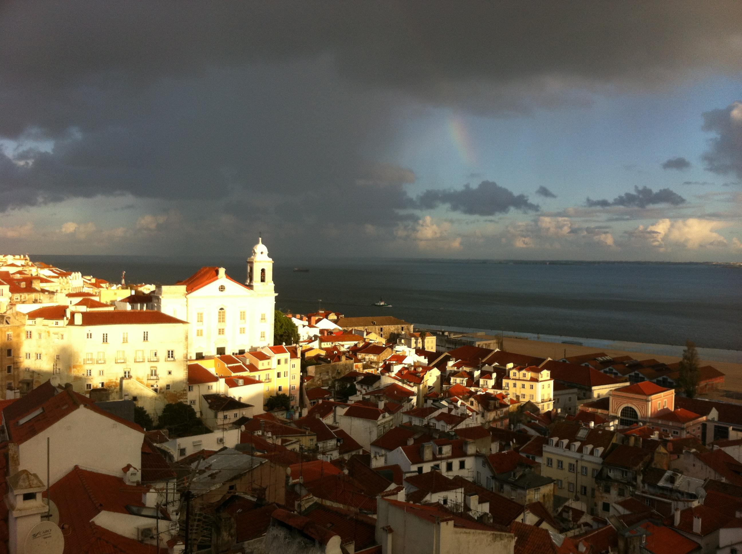Где теплое море в португалии