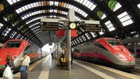Поезда на станции Milano Centrale