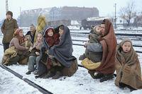 12 врезающихся в память фото о том, как люди бежали на Ближний Восток в 40-е годы