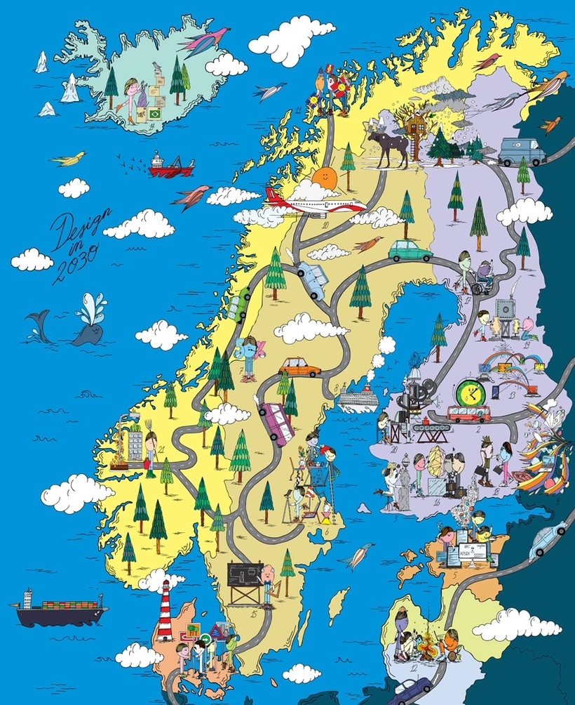 a geography of nordic countries
