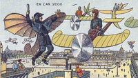 23 интересные иллюстрации французских художников 19 века о будущем