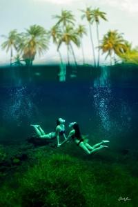 Гавайи и девушки на снимках Сары Ли