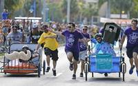 Great grove bed race