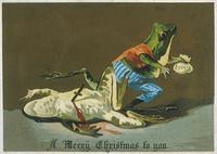 10 викторианских рождественских открыток, таких же жутких, как и вся та эпоха