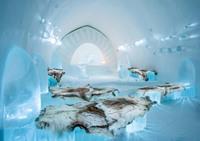 Увидев эти снимки из ледяного отеля в Швеции, невольно начинаешь мечтать побывать там