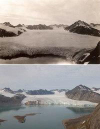 7 пугающих фото о том, что сделали с ледниками климатические изменения за 100 лет