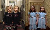 В лондонском отеле отец до смерти пугает постояльцев своими дочками-близняшками