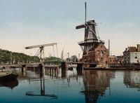 24 таких крутых открытки Нидерландов 1890-х годов, что сразу хочется там очутиться