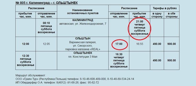 Расписание пригородных автобусов, южный вокзал (калининград) расписание рекламное, возможны изменения.