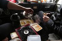 Новозеландец пытался доставить 12 тонн еды на Северный полюс в Сибири