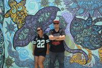 Мастера граффити расписали стену на курорте Kuramathi