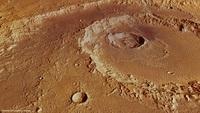 В древности на Марс упал огромный астероид