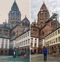 Американка повторила фото в разных уголках Европы, которые сделала 30 лет назад
