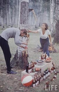 Жизнь молодежи в СССР в 1960-х годах глазами американского фотографа