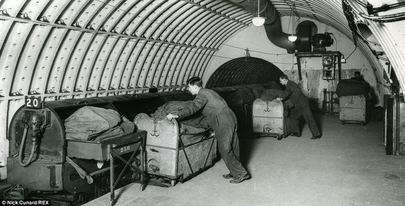Старая подземная почтовая железная дорога Лондона