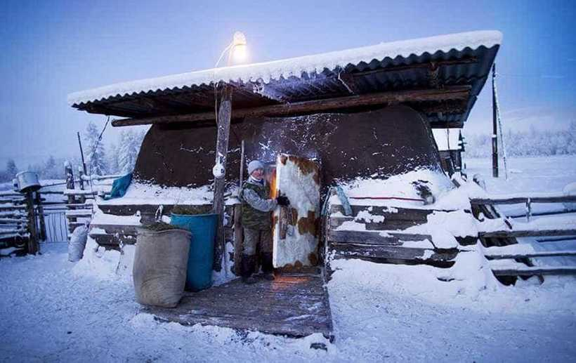 22 красноречивых фото Оймякона — самой холодной деревни на планете
