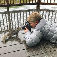 13-летний сын Стива Ирвина покоряет мир своими фотографиями дикой природы