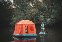 Плавающая палатка — новый объект желания всех продвинутых путешественников
