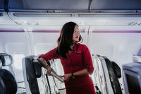 24 фото о том, что делают бортпроводники, когда пассажиры не видят
