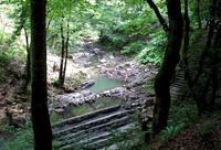Дорога к пятому из Змейковских водопадов